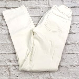 Cabi Jeans women's White Straight Leg Jeans size 2